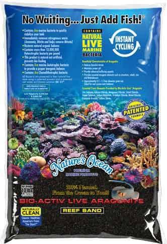 Nature's Ocean - Black Beach - 0,5 - 1,7 mm - Live Sand