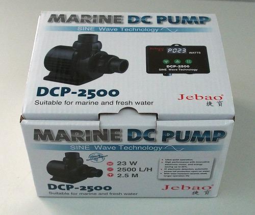 Jecod/Jebao DCP-2.500 Förderpumpe inkl. Controller