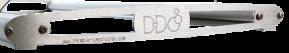 H2O Endplatte-Set HD64 für Doppelschiene