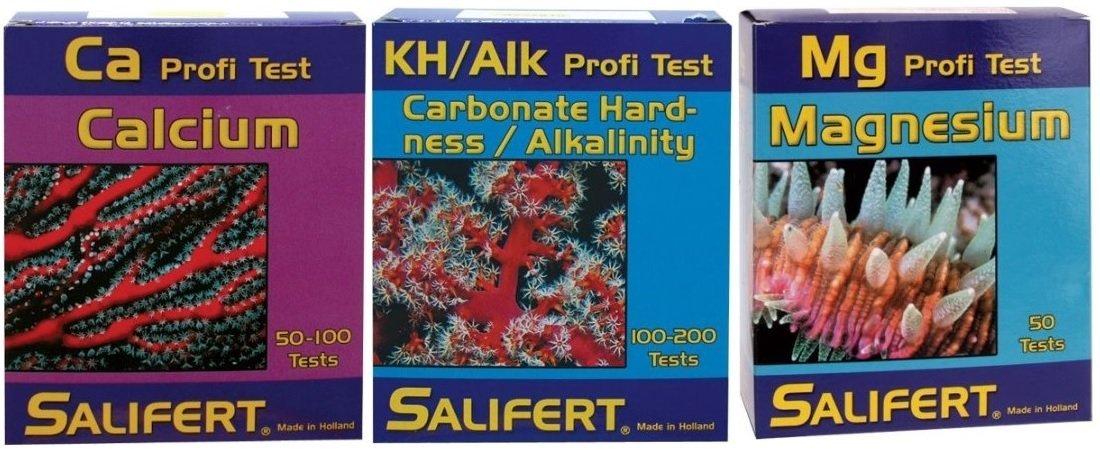 Salifert Test Kit KH CA MG