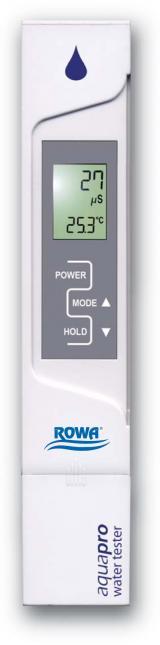 ROWA AquaPro - Leitfähigkeitstester (EC)