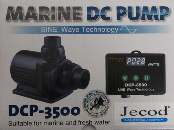 Jecod/Jebao DCP-3.500 Förderpumpe inkl. Controller