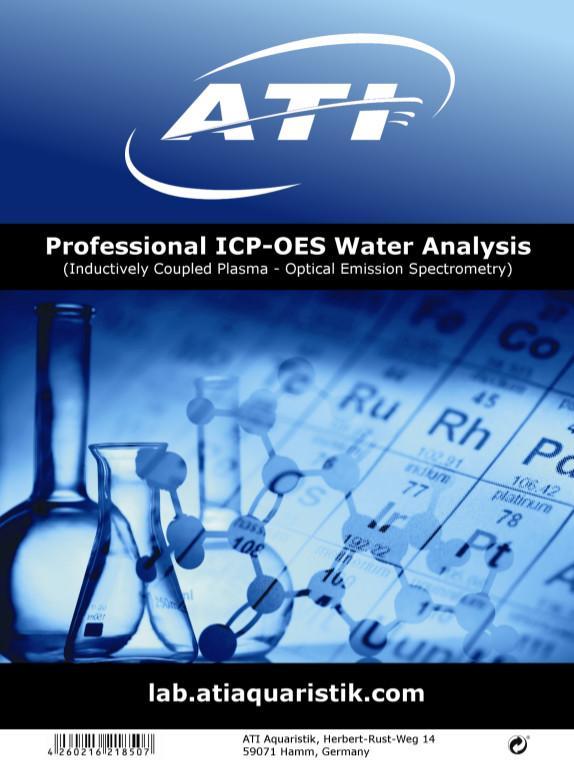 ATI ICP OES Wasseranalyse