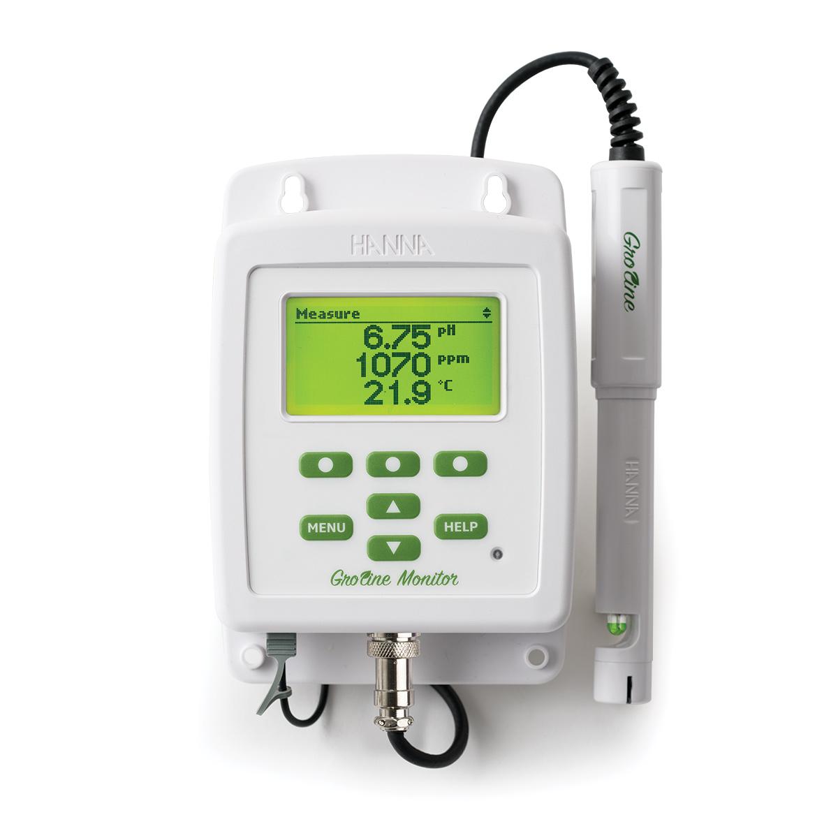 Groline pH- und Leitfähigkeitsmonitor (HI981420)