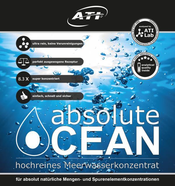 ATI Absolute Ocean 2x 10,2 Liter Meerwasserkonzentrat