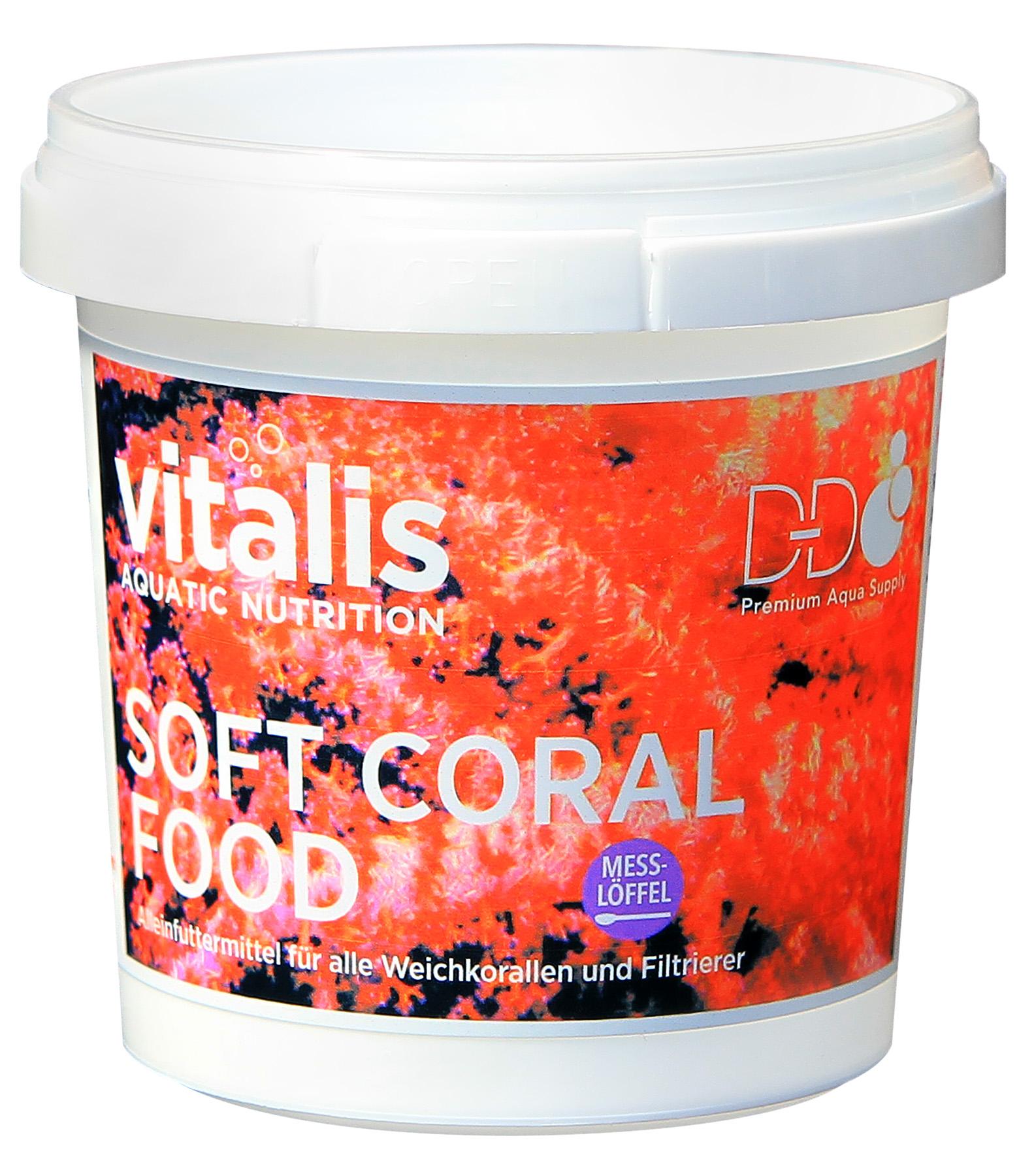 Vitalis Coral Food - Soft Coral Mikro-Flocken 50g