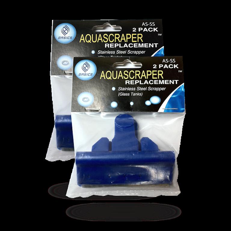D-D 2x Edelstahl- Ersatzklingen für Aquascraper