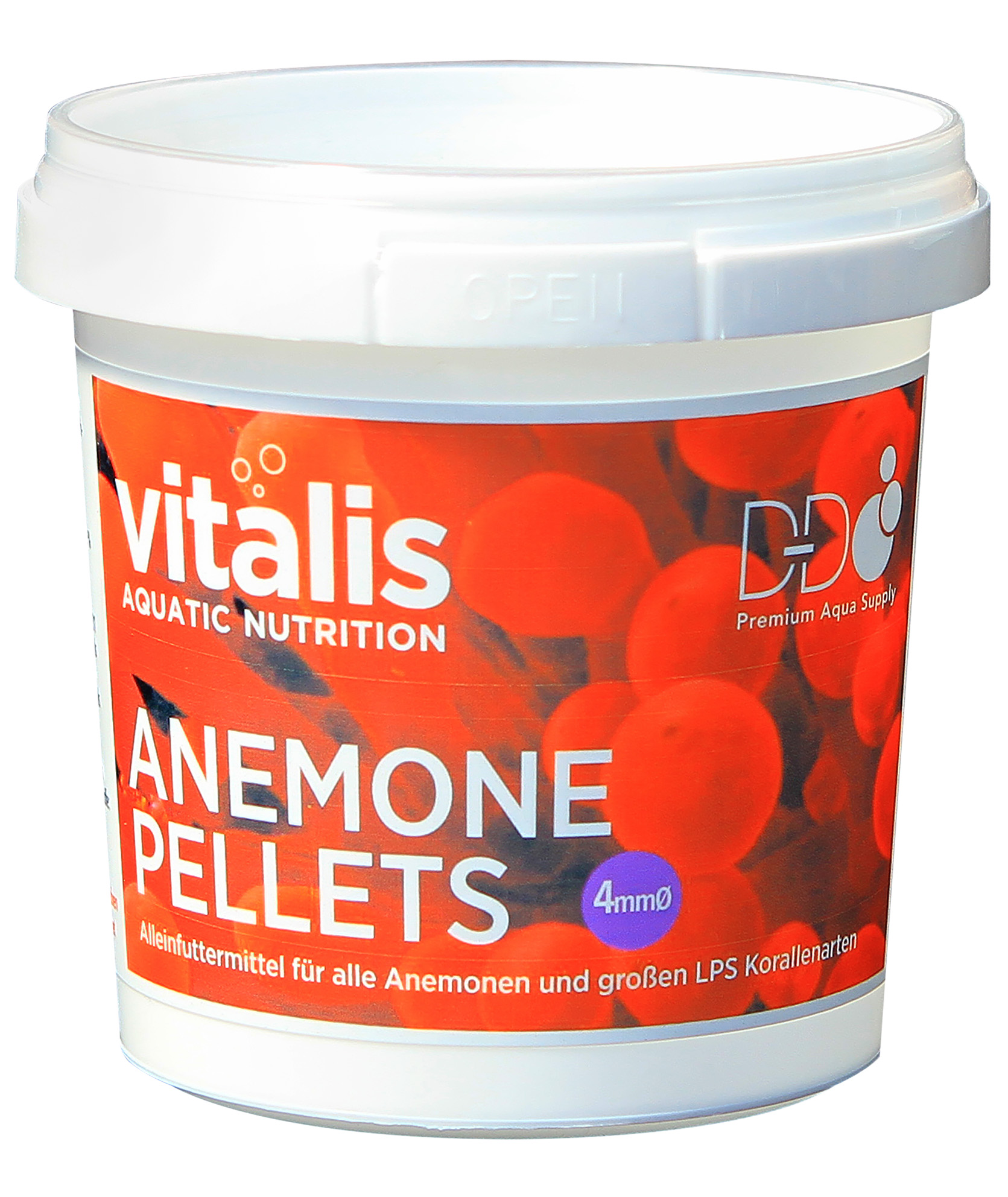 Vitalis Coral Food - Anemone Pellets 4mm 60g