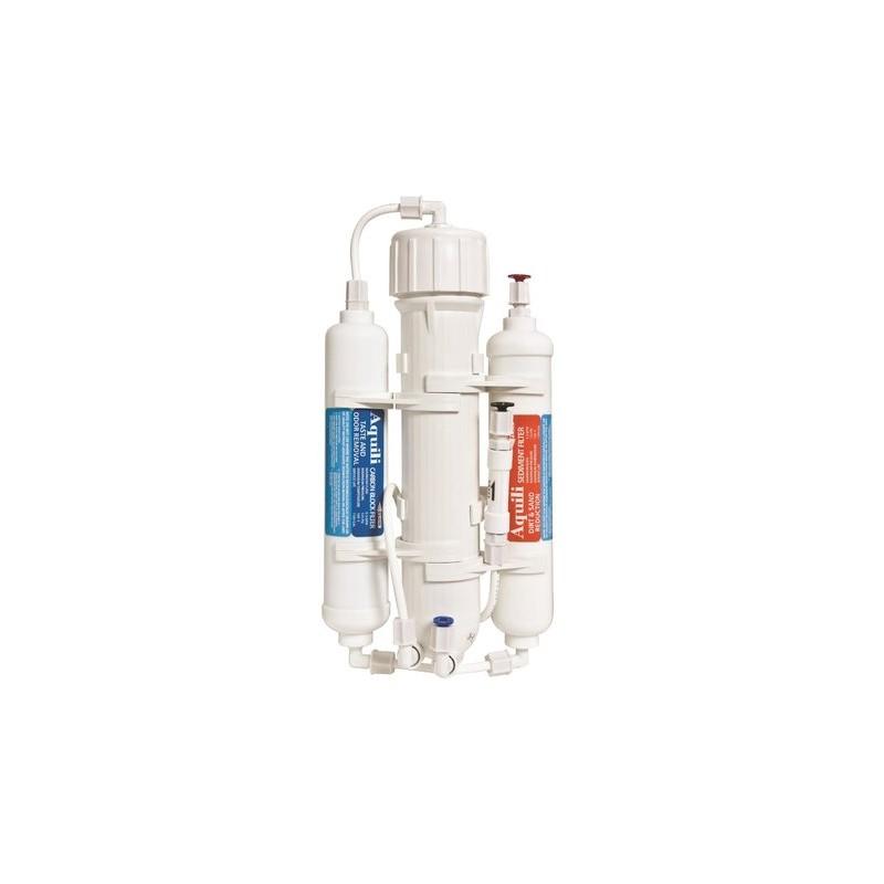 Aquili ROClassic Umkehrosmose mit Aktivkohlefilter und Sedimentfilter 190 l/t