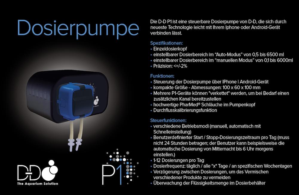 D-D H2Ocean P1 Dosierpumpe