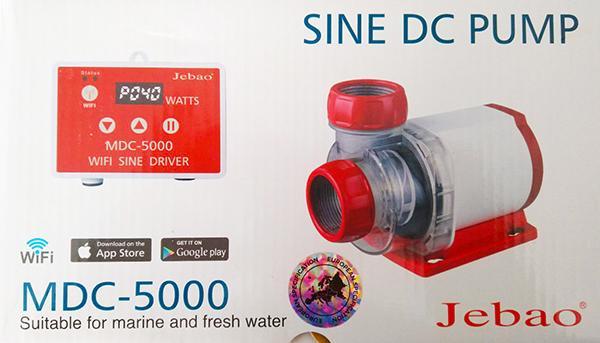 Jebao MDC-5.000 Förderpumpe mit Wifi
