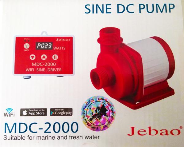 Jebao MDC-2.000 Förderpumpe mit Wifi