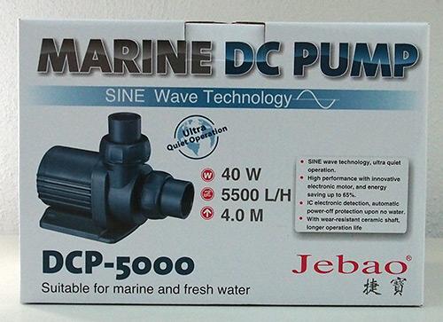 Jecod/Jebao DCP-5.000 Förderpumpe inkl. Controller