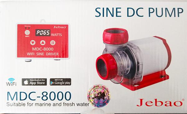 Jebao MDC-8.000 Förderpumpe mit Wifi