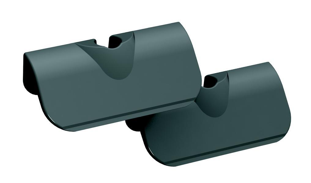 Tunze 0220.156 Kunststoffklingen 45 mm, 2 Stück