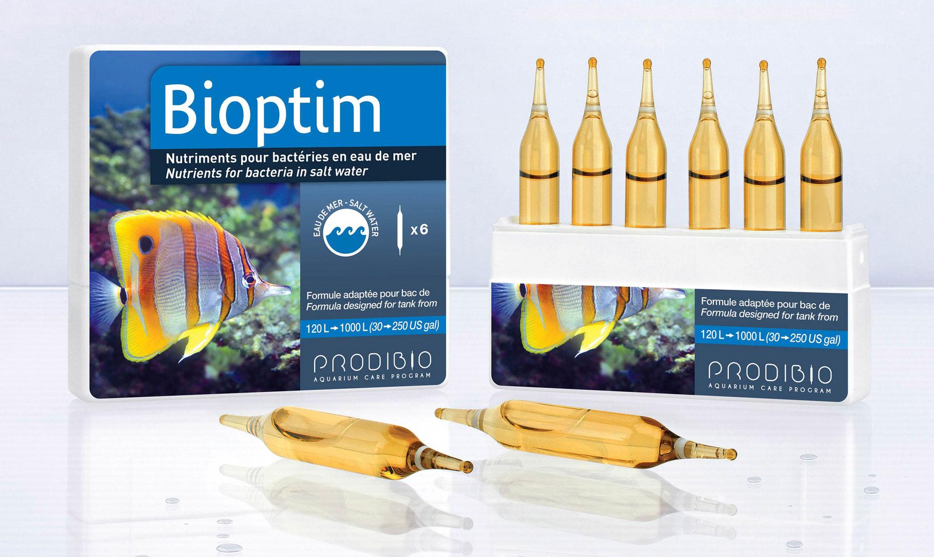 Prodibio Bioptim Meerwasser - konzentrierte Bakteriennährstoffe