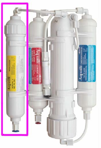 Aquili RO Classic Umkehrosmose mit NO3 PO4 SiO2 Filter – 190 l/t