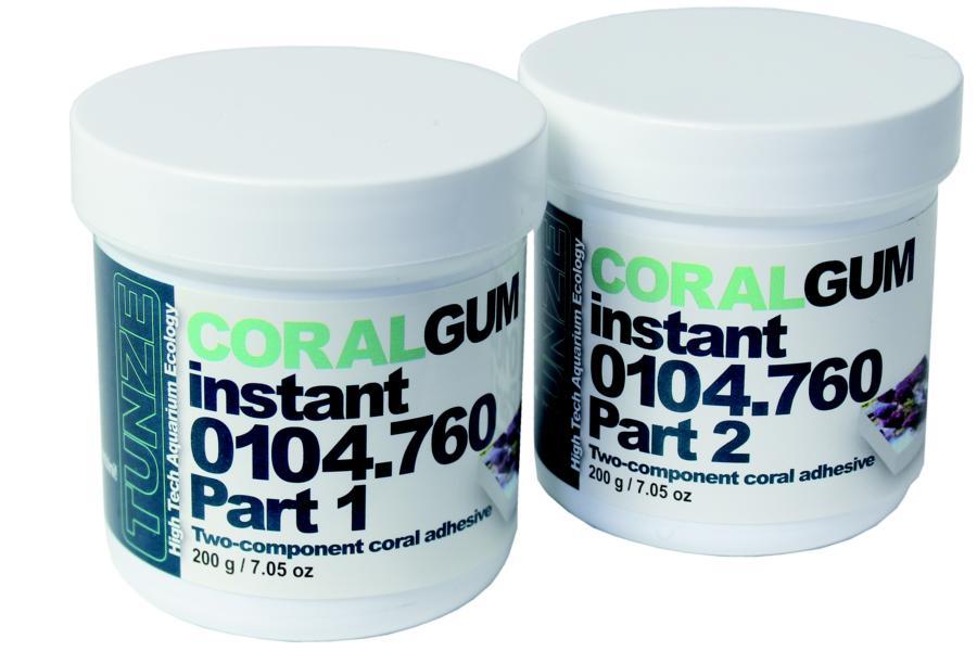 Tunze 0104.760 Coral Gum instant - 400 g
