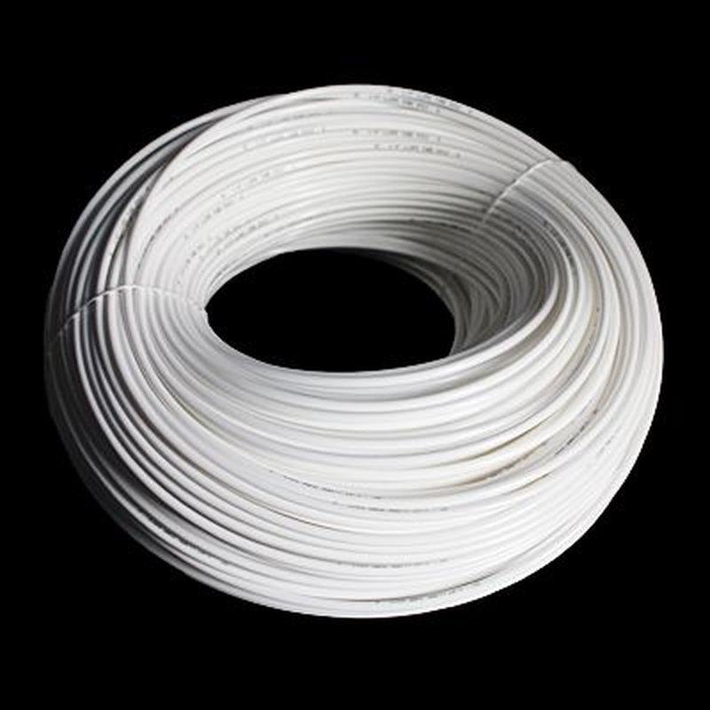 Aquili PVC Schlauch, 4/6 mm, weiß, für Osmoseanlagen
